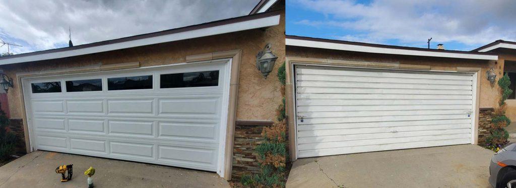 Garage door installation services in california