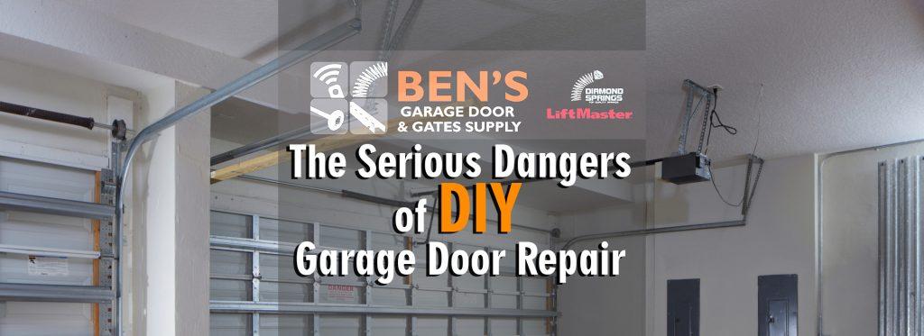 diy vs professional garage door repair