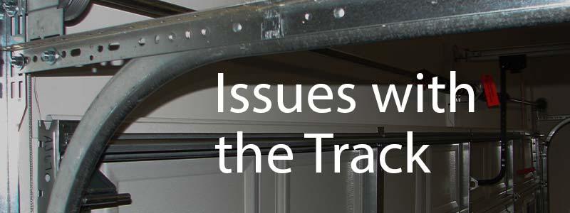 garage door track problem