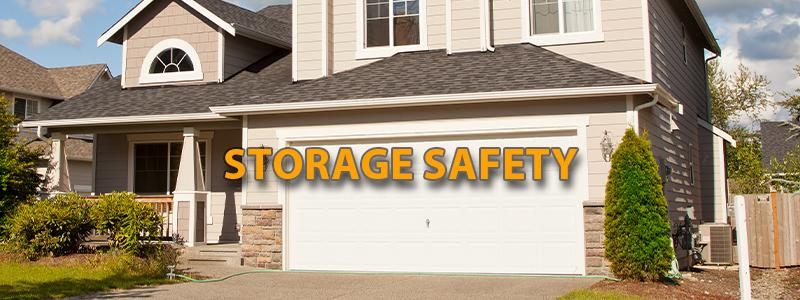 storage at the garage