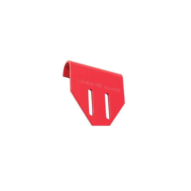 Double Lock Plate - Red