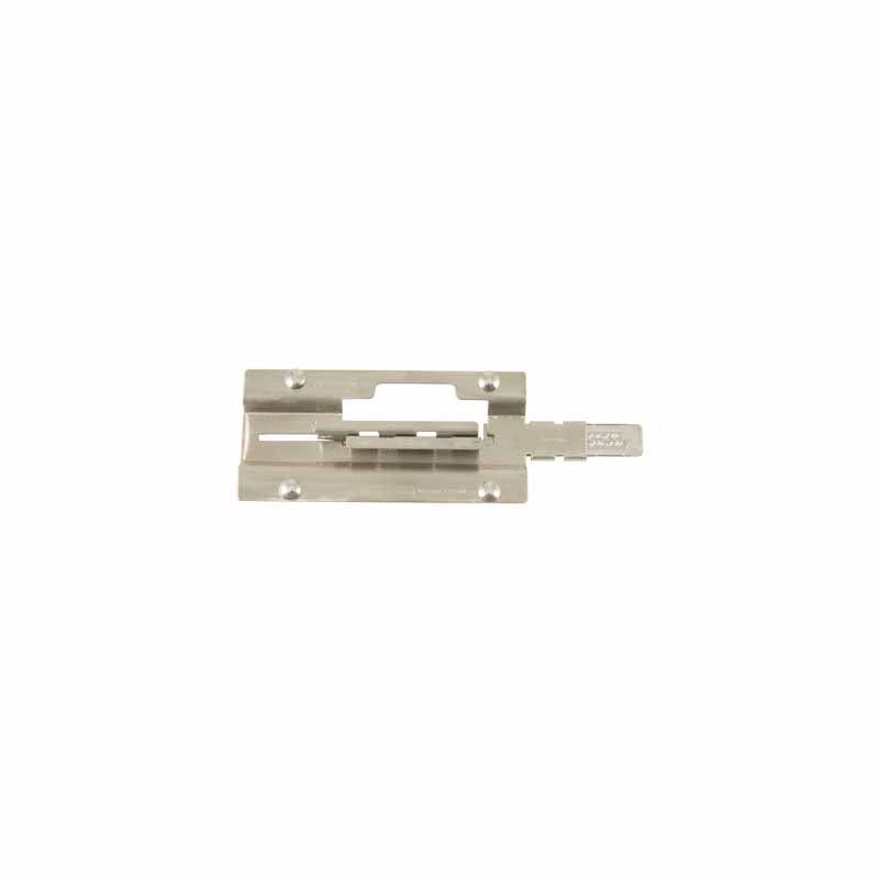 Four Bolt Door Latch - Zinc