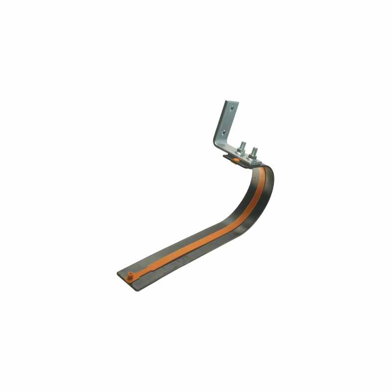 Pair U-Style Door Bumper w/Bracket