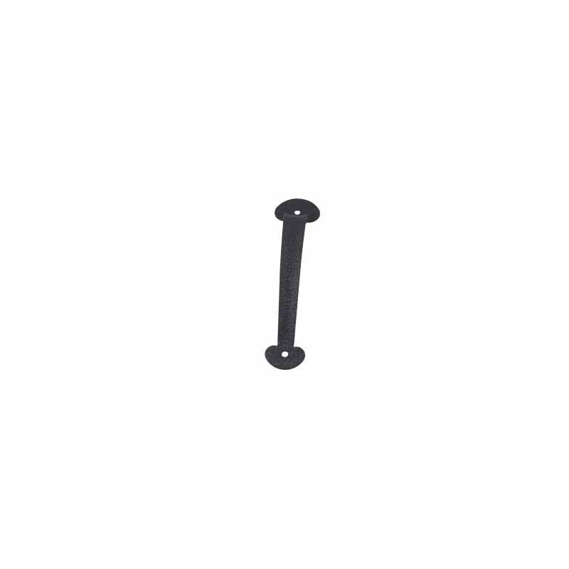 "9"" Colonial Stamped Pull Handle - Black"