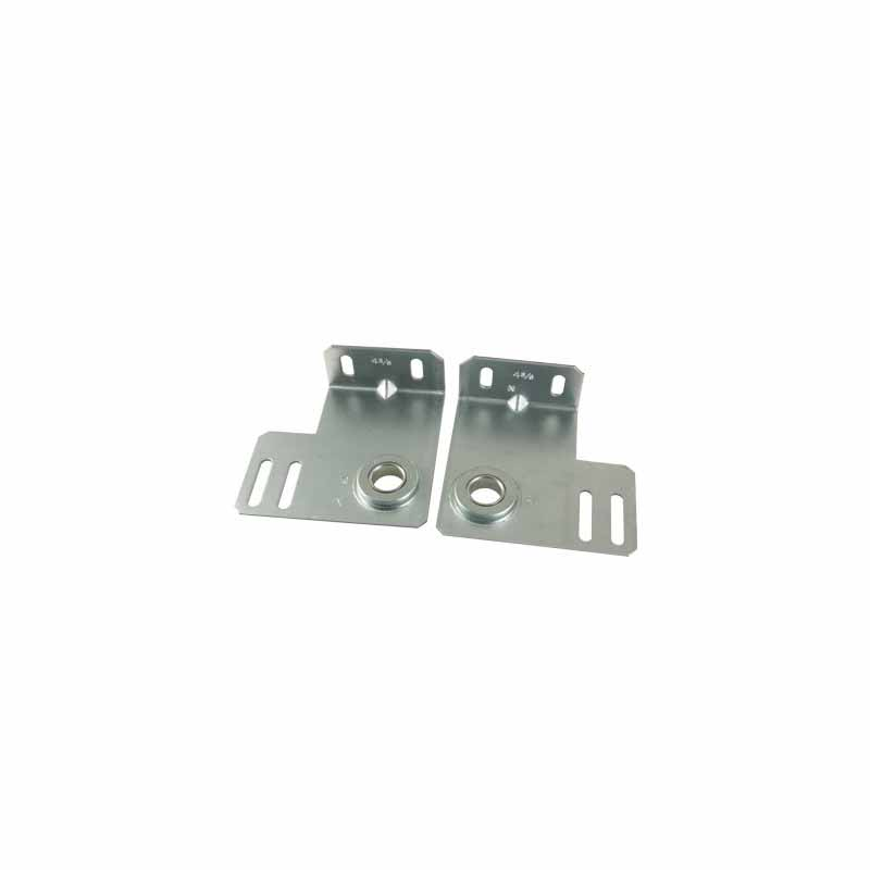 """Commercial End Bearing Plate- 4-3/8"""" Pair, Heavy Duty"""