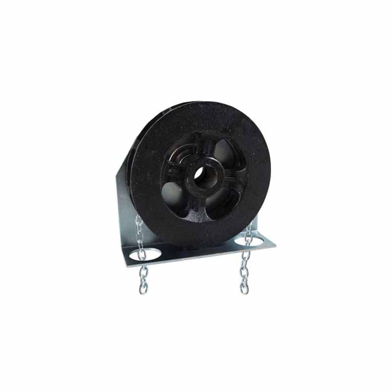 "Model 200 D Sectional Door Chain Hoist- 1"" Shaft"