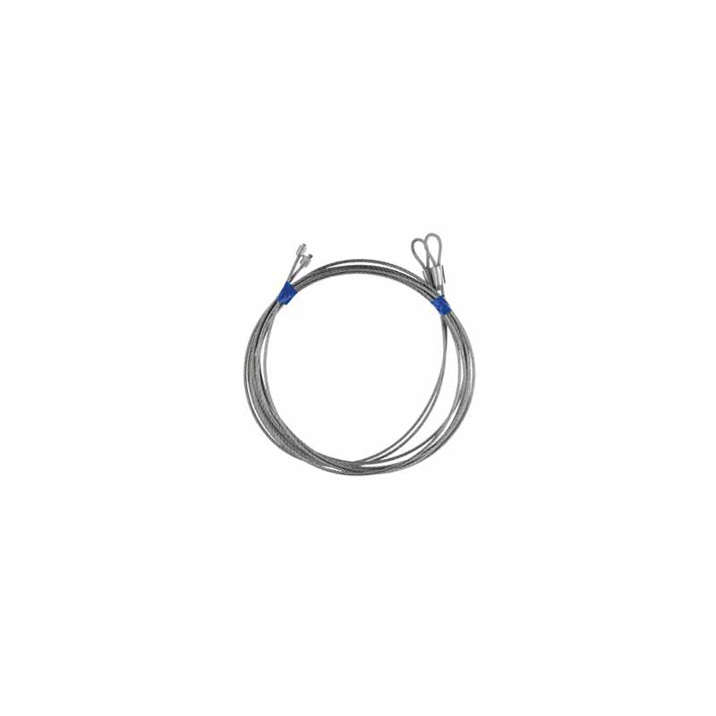 """8' H Torsion Spring Cable Assembly (1/8"""", 9'6"""")"""