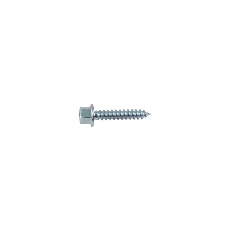 """5/16"""" x 2"""" Lag Screw - Hex Washer (High Profile)"""