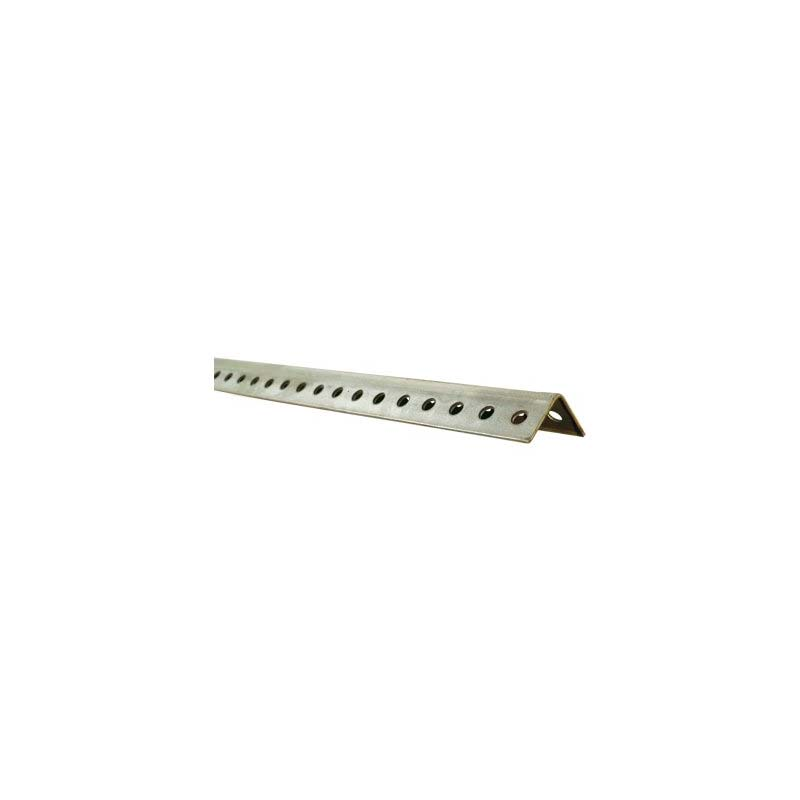 "8' 12 Gauge 1-1/4"" Galvanized Angle"