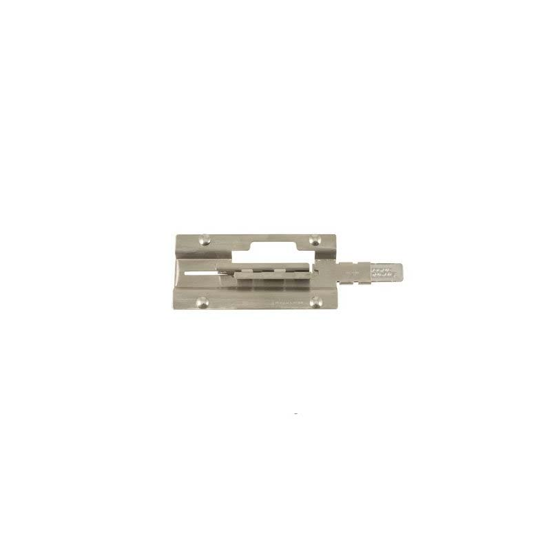 Four Bolt Door Latch - Stainless Steel