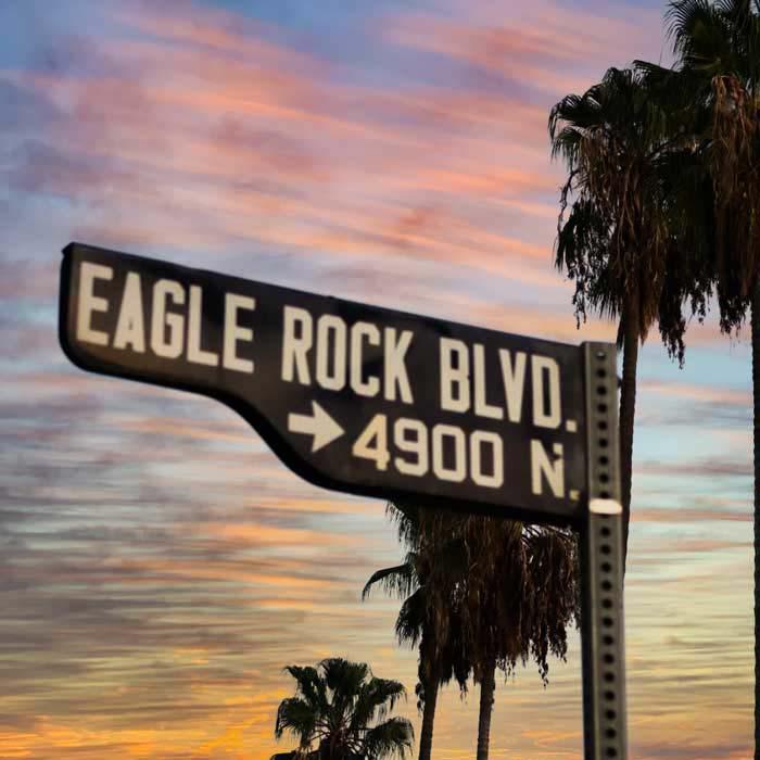 eagle rock sign