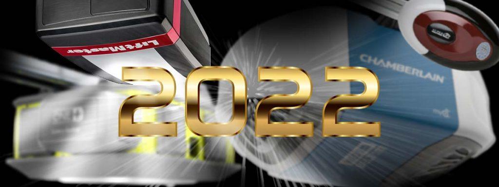 garage door openers 2022